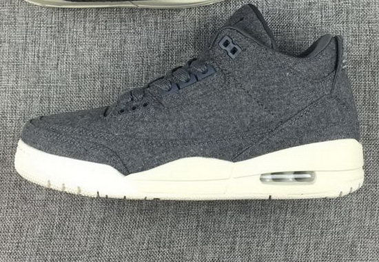 Air Jordan Retro 3 Grey Wool Spain