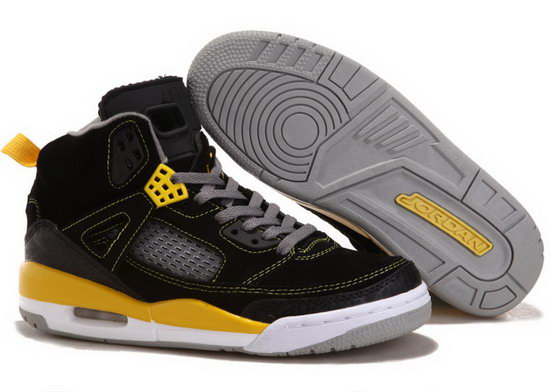 Air Jordan Retro 3.5 Black Yellow Outlet Online