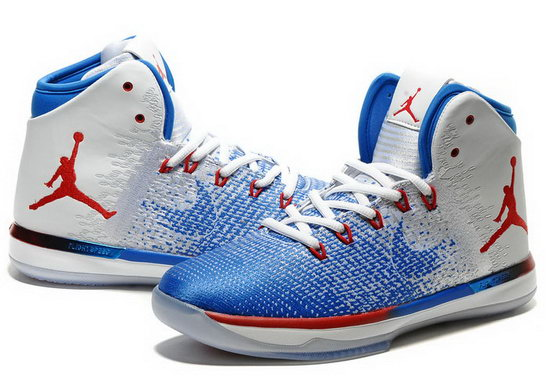 Air Jordan Retro 31 Blue White Red Online Store
