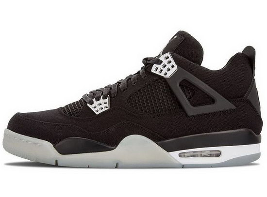Air Jordan Retro 4 Black Denim Inexpensive