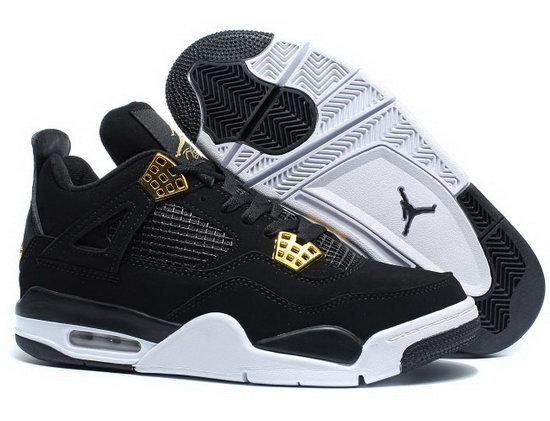 Air Jordan Retro 4 Black Gold New Zealand