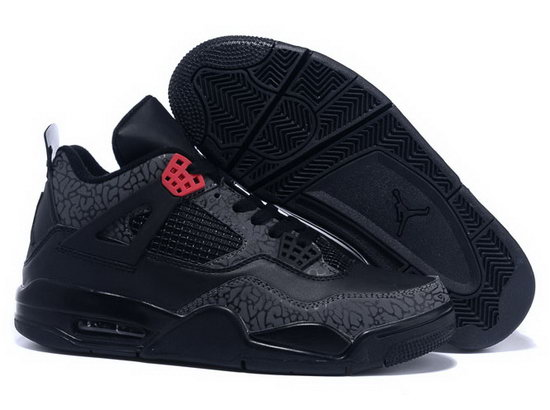 Air Jordan Retro 4 Black Pattern Coupon