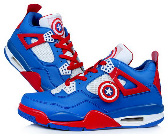 Air Jordan Retro 4 Captain America Online Store