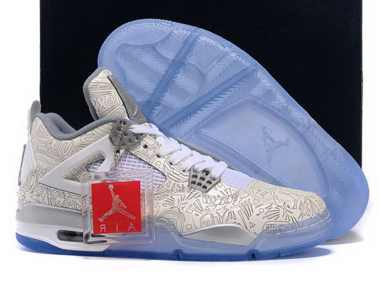 Air Jordan Retro 4 White Laser On Sale