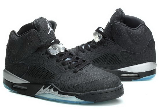 Air Jordan Retro 5 Black Burst Crack White Ireland