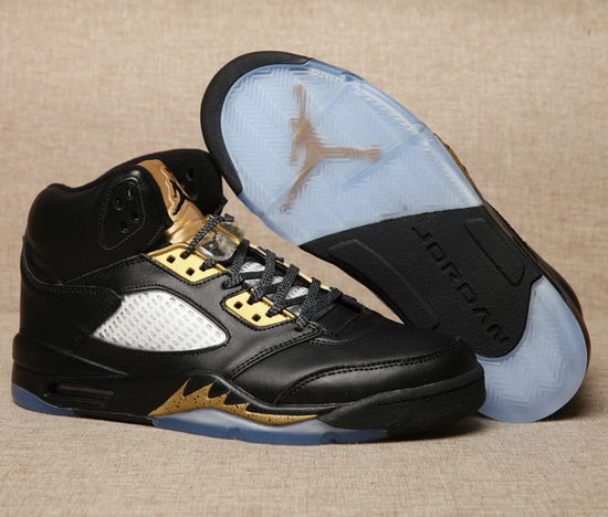 Air Jordan Retro 5 Black Gold Online
