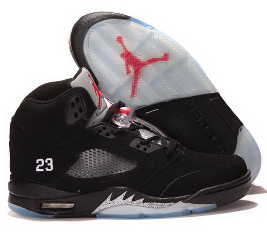 Air Jordan Retro 5 Black White Red Review
