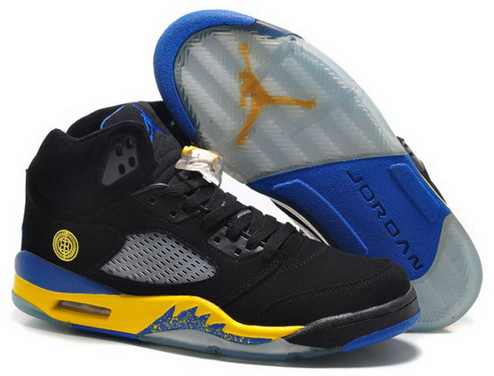 Air Jordan Retro 5 Black Yellow Inexpensive