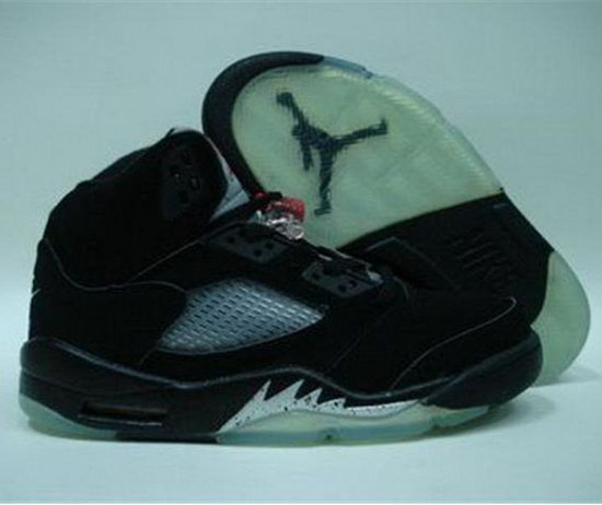 Air Jordan Retro 5 Black New Zealand