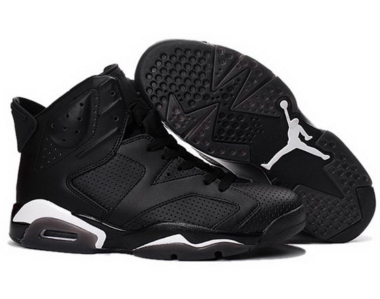 Air Jordan Retro 6 Black Sweden