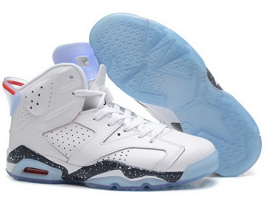 Air Jordan Retro 6 White Ink Jet Outlet Online