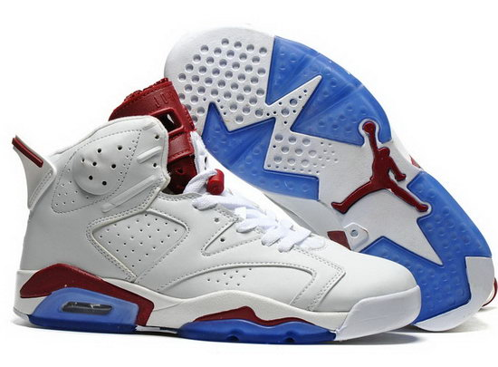 Air Jordan Retro 6 White Wine Online