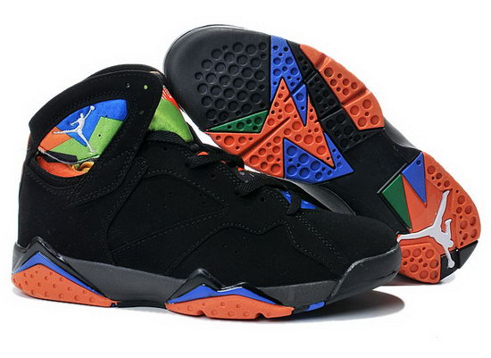 Air Jordan Retro 7 Black Blue Orange Ireland