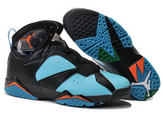 Air Jordan Retro 7 Black Jade Orange Greece