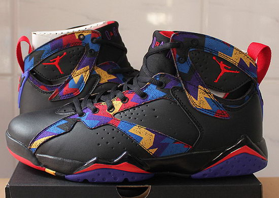 Air Jordan Retro 7 Black Pattern. Online