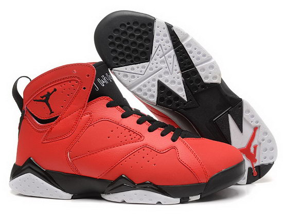 Air Jordan Retro 7 Red Black Spain