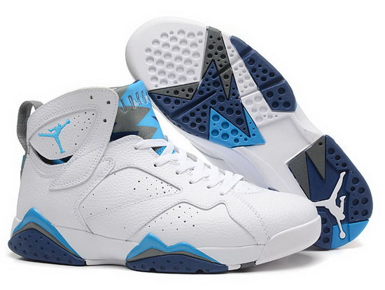Air Jordan Retro 7 White Grey Jade New Zealand