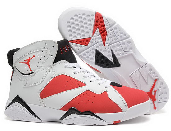 Air Jordan Retro 7 White Red Black Italy