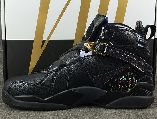 Air Jordan Retro 8 Black Gold Discount Code