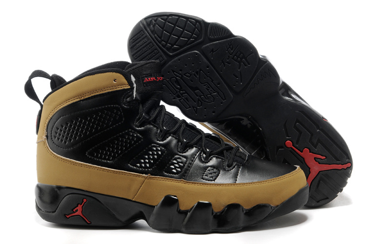 Air Jordan Retro 9 Black Brown Inexpensive