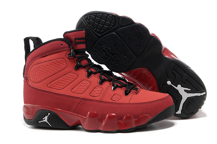 Air Jordan Retro 9 Red Black Sweden