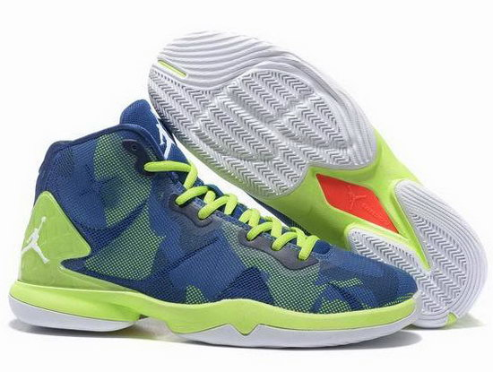 Air Jordan Super Fly Iv Blue Green Czech