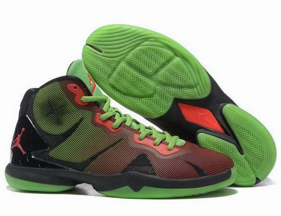 Air Jordan Super Fly Iv Green Red Low Cost