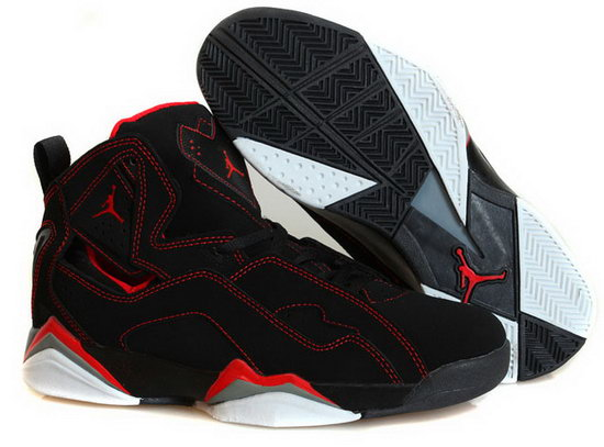 Air Jordan True Flight Black Red Factory