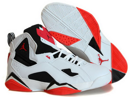 Air Jordan True Flight White Red Coupon