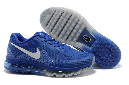 Air Max 2014 Shoes Navy Blue White Closeout