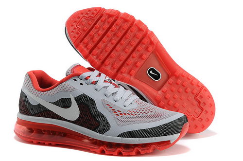 Air Max 2014 Shoes White Black Red Netherlands