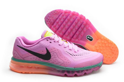Air Max 2014 Womens Light Rose Red Black Green Orange Czech