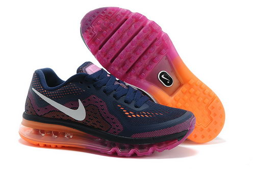 Air Max 2014 Womens Navy Blue Purple Red Orange Netherlands