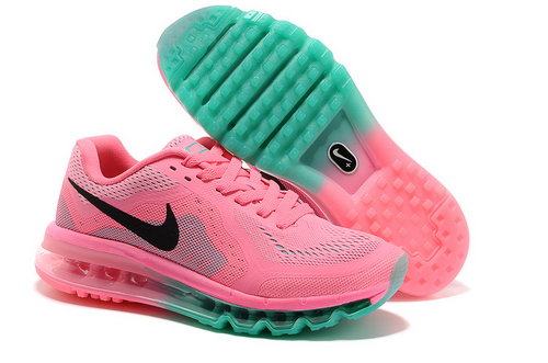 Air Max 2014 Womens Neon Pink Green Low Cost