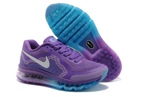 Air Max 2014 Womens Purple Blue Best Price