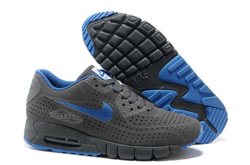 Air Max 90 Current Moire Men Gray Blue Running Shoes Online Shop