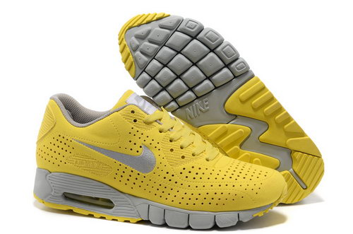 Air Max 90 Current Moire Men Yellow Gray Running Shoes Germany