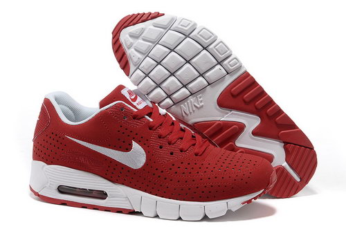 Air Max 90 Current Moire Unisex Red White Running Shoes Inexpensive