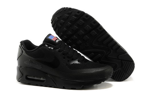 Air Max 90 Hyperfuse Prm Qs Mens Shoes All Black Coupon Code