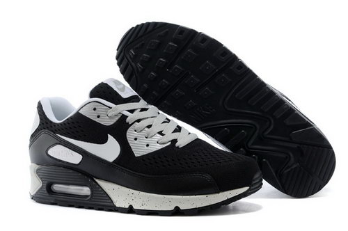 Air Max 90 Premium Em Mens Shoes Black Gray Special Outlet Store