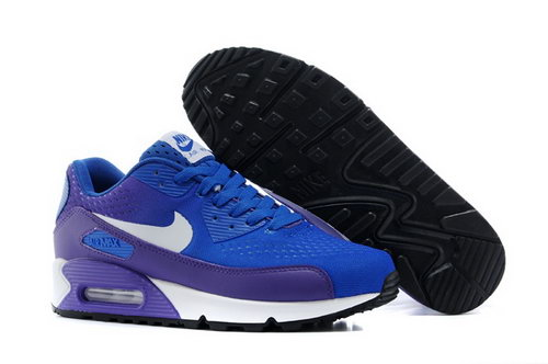 Air Max 90 Premium Em Mens Shoes Blue White Special Australia