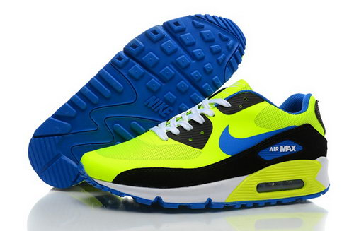 Air Max 90 Premium Em Mens Shoes For Winter Green Blue Clearance