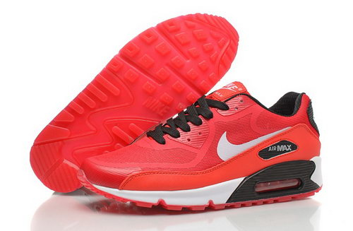 Air Max 90 Premium Em Mens Shoes For Winter Red White Korea