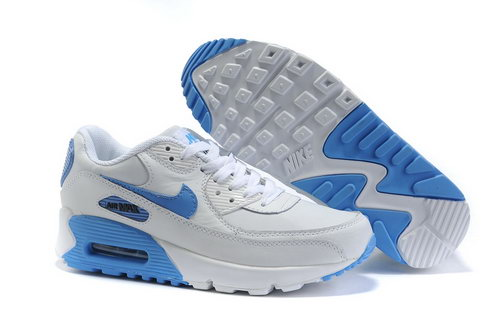 Air Max 90 Womens Blue White Coupon Code