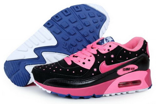 Air Max 90 Womenss New Shoes Black Rosa Czech