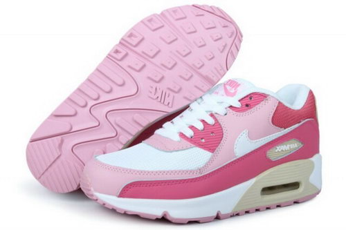 Air Max 90 Womenss New Shoes Pink Low Cost