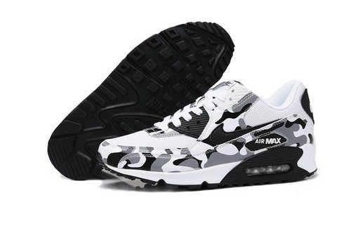 Air Max 90 Womenss Shoes Flower White Black Czech