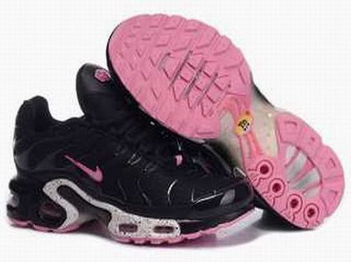 Black Pink White Nike Air Max Tn Womens Running Shoe Closeout
