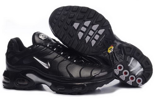 Black Sliver Nike Air Max Tn Womens Running Shoe Netherlands