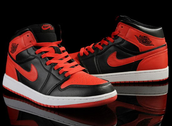 Mens & Womens (unisex) Air Jordan Retro 1 Black Red New Zealand